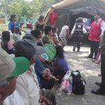 Más de 2 mil personas damnificadas por lluvias se beneficiaron con campañas médicas gratuitas