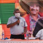 Presidente de Junta de Usuarios Pide Atención al Cuarto Componente en el día del Campesino