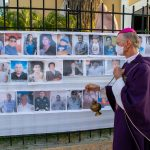 En Chulucanas celebran Misa con Fotos de Fallecidos durante el tiempo de Cuarentena