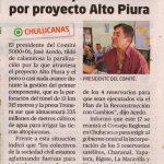 REACTIVAN LUCHA POR CONSTRUCCIÓN DE RESERVORIOS