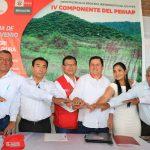 GORE Piura firmará convenio para proyecto de riego La Gallega Corral del Medio-Morropón