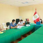 REUNIÓN DE TRABAJO PARA FORTALECER SERVICIOS EN OFICINAS DE OMAPED DE LOS DISTRITOS DE LA PROVINCIA
