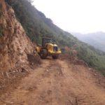 Recuperan Transitabilidad en Trochas afecatadas por Deslizamiento
