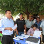 EN PACCHA TOMAN ACUERDOS CON POBLADORES Y ENCARGADOS DE EMPRESA CONSTRUCTORA