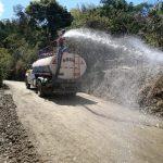 Gobierno Regional Piura reinician trabajos del Mantenimiento Rutinario de la Carretera los Ranchos –Sapse – La Virgen Flor de Café