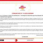 Sub Región de Salud Recomienda el NO uso de Túneles de Desinfección