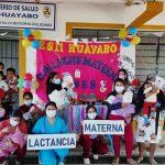 """Con concurso """"Churre Mamón"""" promueven lactancia materna en el Alto Piura"""