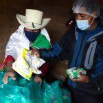 Piura: Supervisan distribución de alimentos en zonas más alejadas de la región